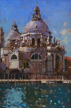 Santa Maria della Salute, Venice by David Sawyer