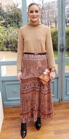 Olivia Palermo's Fall 2017 Paris Fashion Week Looks | InStyle.com