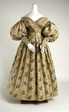 Afternoon Dress  1835  The Metropolitan Museum of Art