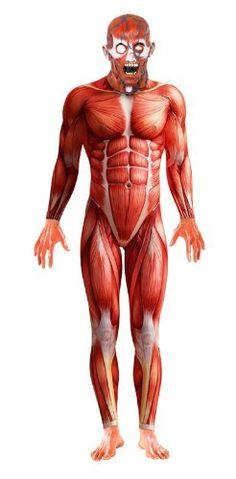 Smiffy's Anatomy Man Costume