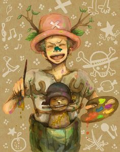 Did you know that zoro and chopper are actually really good friends-fun fact