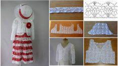Beyaz Dantelli Elbise Yapımı