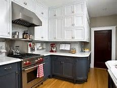 two tone kitchen cabinet images - Bing images