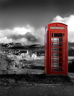 red phone box for the garden, just because.....