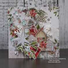 mintay christmas stories paper Cherish the memory Christmas Is Coming, Christmas Tag, A Christmas Story, Handmade Christmas, Xmas Cards, Holiday Cards, Mix Media, Christmas Decorations For The Home, Winter Cards