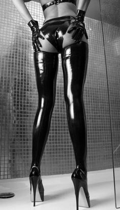 Fetish #fetish #latex #heels