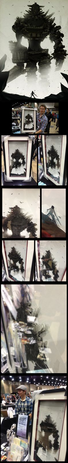 Colossus Paper Toll by ChasingArtwork.deviantart.com on @deviantART