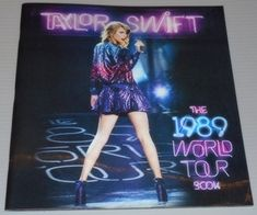 Commemorate The 1989 World Tour Experience with this 50-page tour book full of images from the 2015 1989 World Tour....