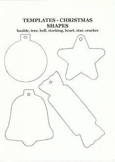 Felt Crafts Templates | We Know How To Do It