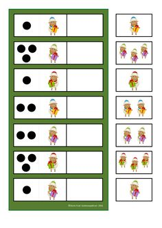 Counting game. By Autismespektrum.                                                                                                                                                                                 Mais Kindergarten Math Activities, Preschool Math, Activities For Kids, Toddler Worksheets, Counting Games, Busy Boxes, Kids Class, Educational Games, Speech And Language