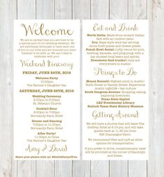 Wedding Itinerary Template   Free Word Pdf Documents Download