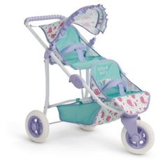 Bitty's Double Stroller | Bitty Baby | American Girl
