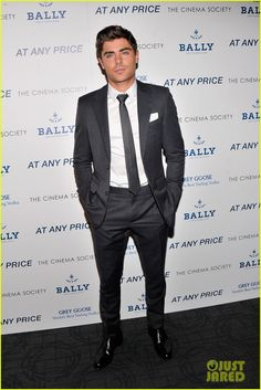 Zac Efron #suits up in Balenciaga