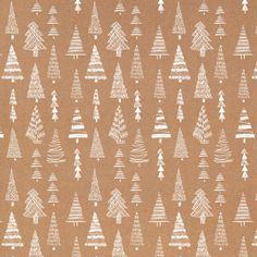 RP White Trees Craft Pattern Wrap