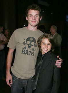 """Anton with the actor Dominic Scott Kay at the L.A. screening for the movie """"The Dukes"""" (2007)"""