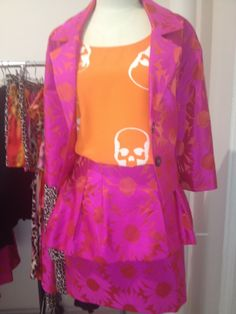 Trelise Cooper 'Jackie O' jacket, 'So so modern' skirt and Cooper 'Castaway' top available now at Trelise Cooper Wellington