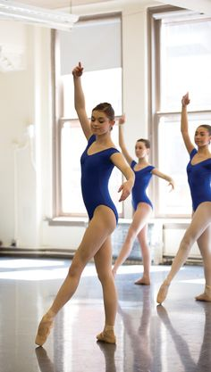Tips for mastering adagio Photo: ABT's JKO School students in class (PC Rosalie O'Connor)
