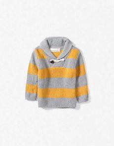 so preppy and cute. zara baby boy sweater