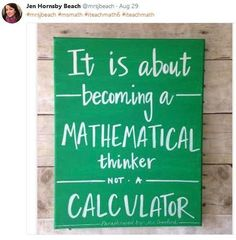 It's hard to believe it's already time for another Monday Must Reads! Hope all of my U. friends are having a lovely day off for Labor Day. Math Quotes, Classroom Quotes, Math Sayings, Classroom Posters, Math Teacher, Teaching Math, Teaching Ideas, Math Classroom Decorations, Classroom Ideas