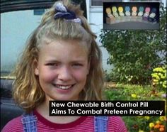 New Chewable Birth Control Pill Aims To Combat Preteen Pregnancy