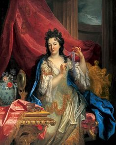 Nicolas de Largillière - Portrait of a Woman. 1696