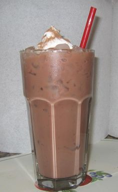 sugar free iced coffee/frappe--follow the directions and be sure to use skim milk and this isn't so bad.