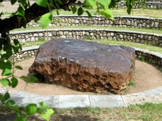 The Hoba Meteorite of Namibia weighs 66 tons and is the largest meteorite ever found.