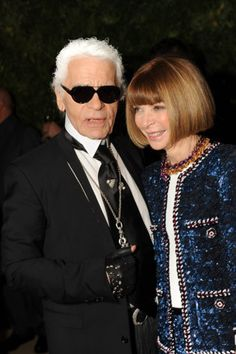 On Choupette, loyalty and politics: Anna Wintour's personal words to honour Karl Lagerfeld
