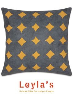 Leyla's  Golden Star Decorative Pillow.