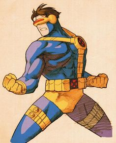 Cyclops of Marvel Vs Capcom 2