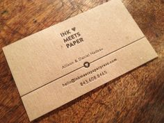 Brown Kraft and 100% Recycled Business Cards from Jukeboxprint.com ...