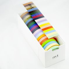Set of 20 new solid colors from mt!  7mmx10m