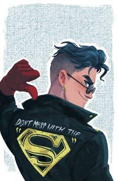 Drawing Dc Comics Superboy Convergence Cover for DC by babsbabsbabs Hq Marvel, Marvel Dc Comics, Clark Kent, Character Drawing, Comic Character, Character Concept, Comic Books Art, Comic Art, Babs Tarr