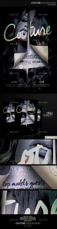 Couture Fashion Show Flyer Template