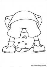 Caillou - 999 Coloring Pages | clip art for everything | Pinterest ...