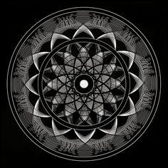 Mandala Sacred Geometry - Consciousness