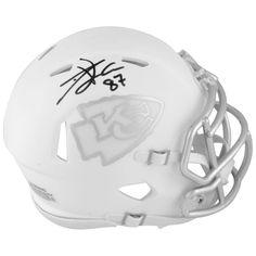 Travis Kelce Kansas City Chiefs Fanatics Authentic Autographed Riddell  Speed ICE Mini Helmet c13ea3e98