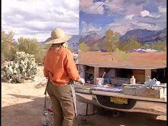 New Mexico Artist Louisa McElwain. Wonderful work, rest in peace.