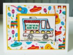 Tasty Trucks | MakingMemorieswithMichelle.weebly.com | Stampin' Up! Sale-a-Bration 2017