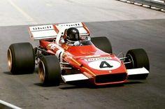 JACKY ICKX 1971 Monaco