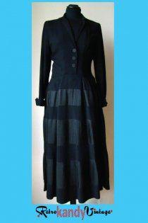 1940's Vintage Bonwit Teller Dress