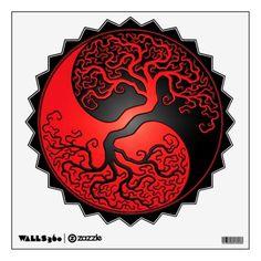 yin yang w/tree