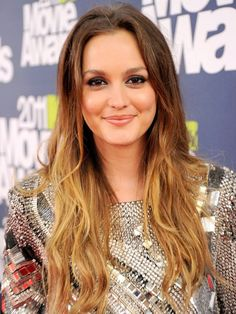 Love Leighton Meester and her ombre hair!