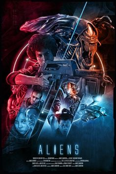 """Welcome To The CREEPSHOW — """"Aliens"""" by Rich Davies"""