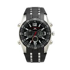 Shop U.S. Polo Assn. Silver Tone Analog  Digital Chronograph Watch for Men. online at lowest price in india and purchase various collections of Sport Watches in Unknown brand at grabmore.in the best online shopping store in india