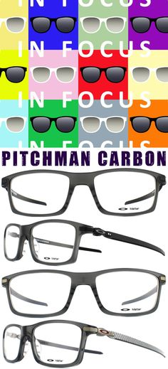397b84ebd7a Oakley Pitchman Carbon Glasses - In Focus