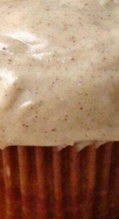 Canned Pumpkin, Pumpkin Pie Spice, Pumpkin Puree, Pumpkin Recipes, Fall Recipes, Cupcake Tray, Fat Free Milk, How To Make Frosting, Filled Cupcakes