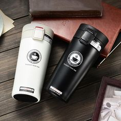 UPORS Premium Travel Coffee Mug Stainless Steel Thermos Tumbler Cups Vacuum Flask thermo Water Bottle Tea Mug Thermocup Coffee Flask, Coffee Thermos, Coffee Tumbler, Tumbler Cups, Tea Mugs, Drink Coffee, Stainless Steel Coffee Mugs, Stainless Steel Thermos, Thermo Mug