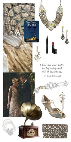 Gatsby inspired #deco #jewels from Fall 2013 that I still love. #YellowCrystal Still available in limited quantities.  www.chloeandisabel.com/boutique/christygustin