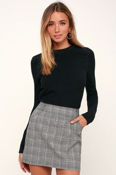 668bd6943092 43 Best Black Mini Skirt images | Fall fashion, Fashion beauty ...